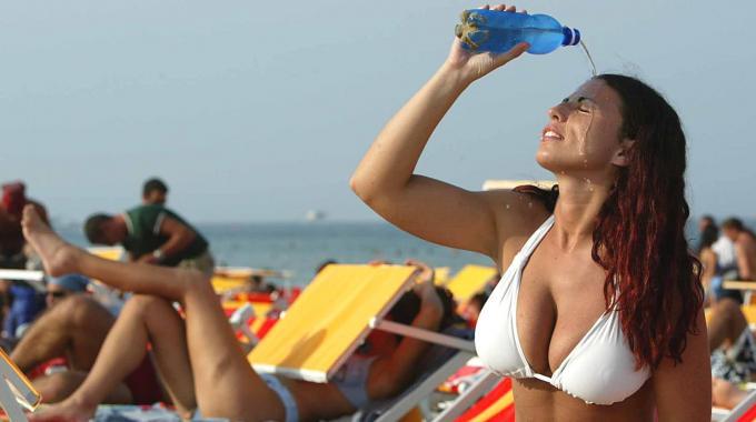 Ondata di calore: in Sardegna le termiche più calde
