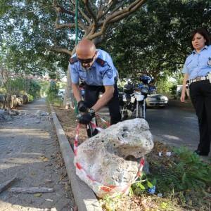 Frana a Palermo: continua a sgretolarsi monte Pellegrino