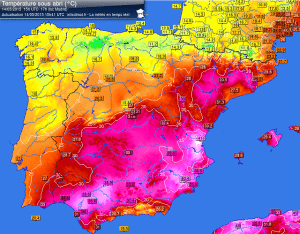 Risveglio di fuoco a Palermo: alle ore 09.00 +35°C