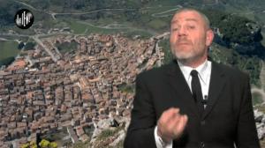 Frana A19: Giulio Golia delle Iene a Caltavuturo per raccontare i disagi della popolazione