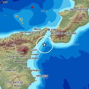 Trema lo stretto di Messina: otto scosse in 13 ore