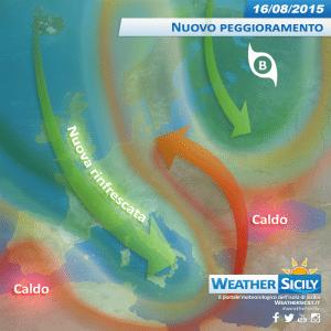 Sicilia: mercoledì torna il maltempo, poi sole e temperature in media