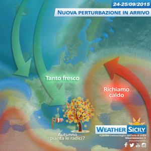 Sicilia, ecco il gran fresco: nella notte maltempo sulle tirreniche e temperature under 15