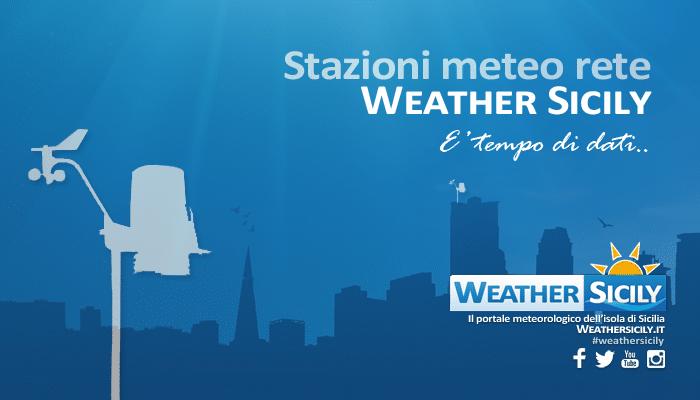 Nasce la rete delle stazioni meteo di weathersicily.it