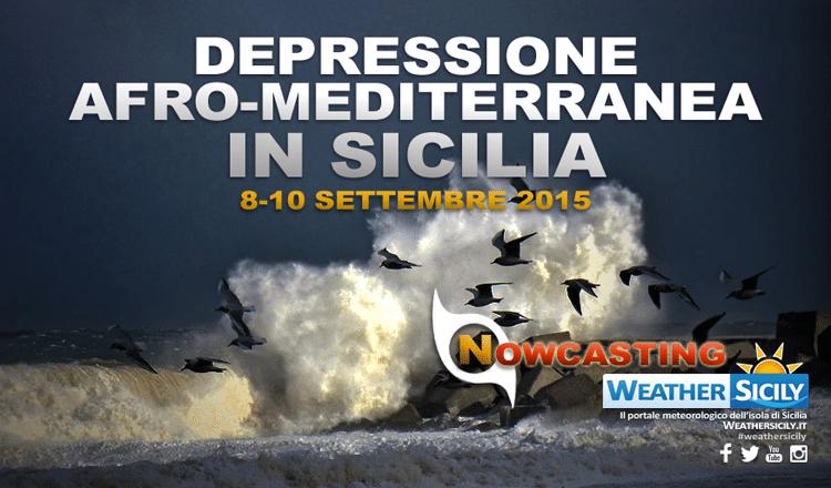 Depressione afro-mediterranea in Sicilia: tutte le news minuto per minuto