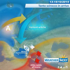 Mercoledì punte oltre i 30 gradi sul nord Sicilia: atteso scirocco burrascoso