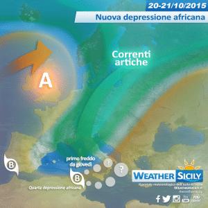 Sicilia, l'autunno diventa feroce: nuovo guasto. Possibile criticità in arrivo e primo freddo