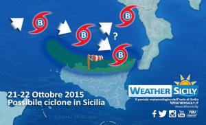Maltempo in Sicilia: giovedì possibile ciclone sul Tirreno, massima attenzione!
