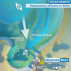 Sicilia, che freddo ad Enna: +6 gradi in pieno giorno