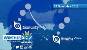 Sicilia, la depressione africana manda in tilt i modelli. Situazione da attenzionare!