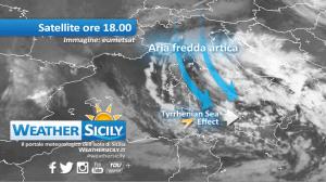 Sicilia, pressione crollata. Il maltempo entra nel vivo: 36 ore da attenzionare!