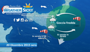 Domenica invernale sulla Sicilia orientale: 11 gradi a Catania , nevica sull'Etna a 1.800 metri