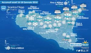 Weekend gelido in Sicilia, qualche consiglio per difendersi dal freddo