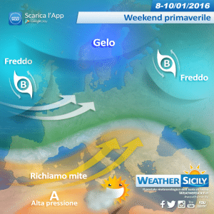 Sicilia, in arrivo un weekend primaverile con temperature fino a 20 gradi