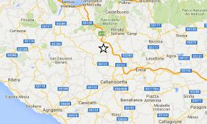 Caltanissetta trema, scossa di terremoto di magnitudo 2.9. Epicentro a Petralia Soprana