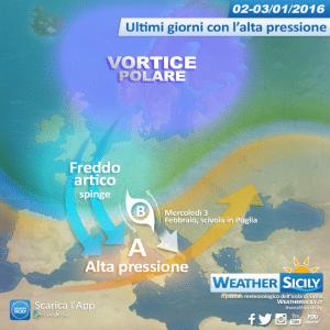 Sicilia: ultimo colpo di coda dell'anticiclone, da giovedì sensibile calo termico