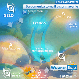 Weekend in Sicilia: venerdì qualche disturbo, sabato un po' di freddo, da domenica bis primaverile