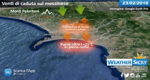 Sicilia, continua l'inverno anonimo: temperature in calo, ma niente freddo
