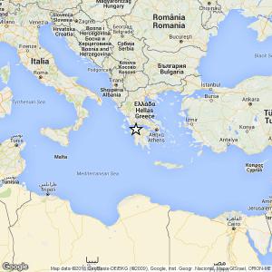 Grecia, trema la costa occidentale della penisola
