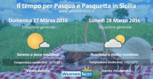 Sicilia, scoppia la primavera ma attenzione al weekend