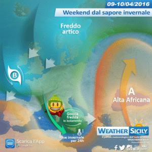 Sicilia, riprendiamo i giubotti: in arrivo freddo, maltempo e neve nel weekend