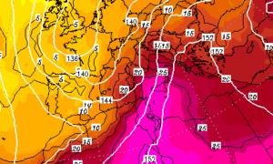 | La termica di +28 invade la Sicilia a 1.500 metri |