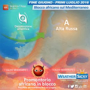 Sicilia, l'estate è pronta a decollare! Caldo (moderato) africano in arrivo