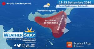 Sicilia, peggioramento in arrivo sul settore tirrenico. Instabilità pomeridiana su zone interne