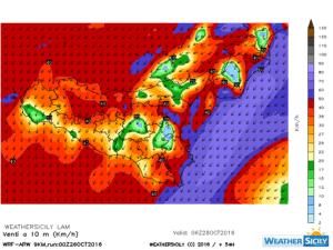 Sicilia, l'autunno tenta l'assalto: crollo termico, forti venti e maltempo in arrivo