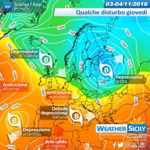 Sicilia: weekend mite dominato dal libeccio, locali punte di +30°C. Frastornata invernale settimana prossima?