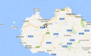 10 novembre 2016 ore 19.05: scossa di terremoto 3.1 nel trapanese