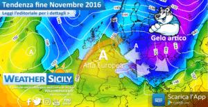 Sicilia, lo scirocco dominerà la settimana. Freddo artico a fine mese?