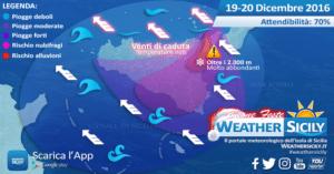 Sicilia, severo peggioramento da stasera: massima prudenza tra catanese e messinese (anche tirrenico)