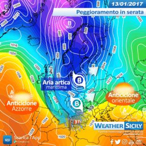 Sicilia, gelo in ritirata: richiamo umido in arrivo. Ultima carrellata di neve in alcune province