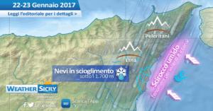 Sicilia, il peggio è passato. Riassunto di una temuta domenica autunnale in pieno gennaio