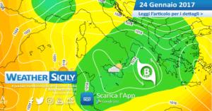 Sicilia, si rientra in clima invernale. Instabilità diffusa per martedì