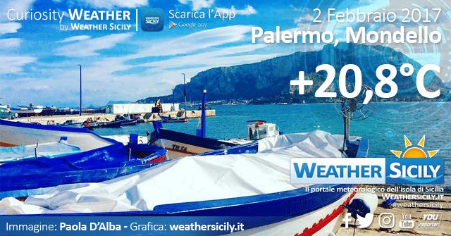 Sicilia sotto l'anticiclone africano: lo zero termico sfiora i 3.000 metri di altitudine