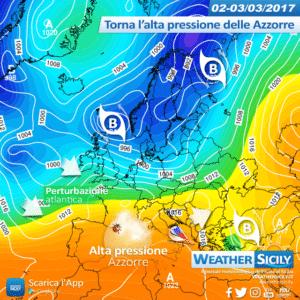 Sicilia, richiamo mite sabato: attesi locali picchi oltre i +20°C. Tendenza perturbata per domenica?