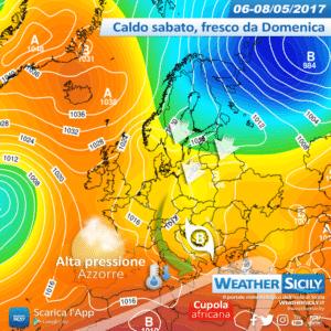 Sicilia: Catania raggiunge i +34°C, sabato il turno delle tirreniche. Calo termico a partire da Domenica