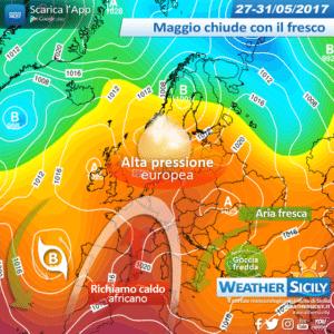 Sicilia, Maggio chiude al fresco. Decollo estivo a partire da Giugno?