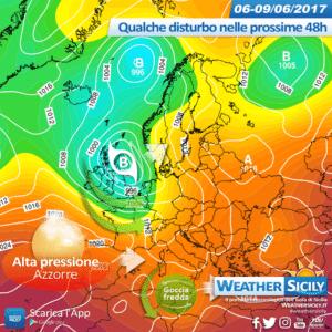 Sicilia, è tornata la pioggia! Peggioramento nel pomeriggio sul nord della regione