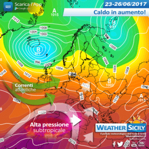 Sicilia, nel weekend caldo in aumento. Forte ondata di calore dalla prossima settimana: anticipazioni