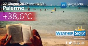 Sicilia sotto l'alta pressione africana: nuovi aggiornamenti per la costa tirrenica