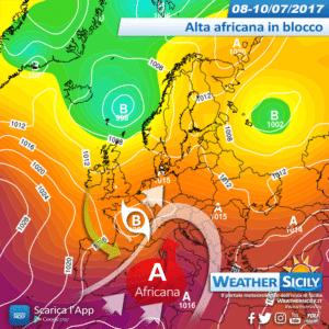 Social News | Andamento termico prossime 168 ore in Sicilia: 7 giorni di caldo africano