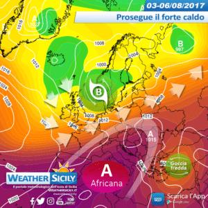 Sicilia, si avvia la quinta e duratura ondata di calore africana: picco entro la prossima settimana