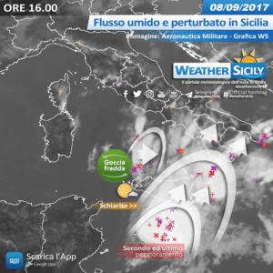 Social News | Flusso umido e perturbato in Sicilia