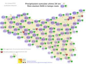 Sicilia, tempo in miglioramento grazie al ritorno dell'alta pressione delle Azzorre
