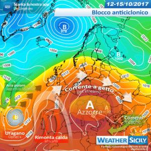 Sicilia, lunga fase anticiclonica in arrivo: temperature in media e tempo stabile ad oltranza