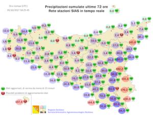 Sicilia: notevole calo delle temperature da sabato. Il vento sarà il vero protagonista