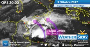 Sicilia, nuova fase instabile alle porte: atteso maltempo anche intenso lunedì